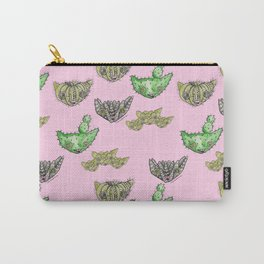 """""""Oro?"""" Cactus Pink Carry-All Pouch"""
