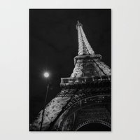 eiffel Canvas Prints featuring Eiffel by Envibe Photography
