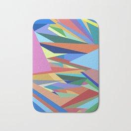 Colorful Triangle Pattern Bath Mat