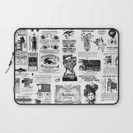 Vintage Victorian Ads Laptop Sleeve