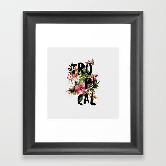 Tropical I Framed Art Print