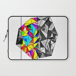 COLOURED GEOMETRIC PATTERN Laptop Sleeve