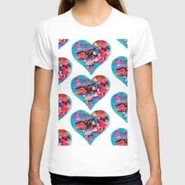 Tie-Dye Hearts T-shirt