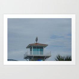tower at myrtle beach Art Print