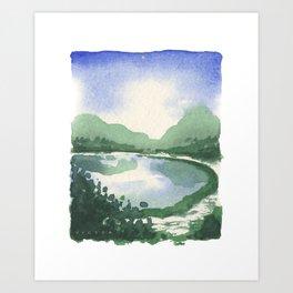 Beacon Hill Park,Victoria BC Art Print