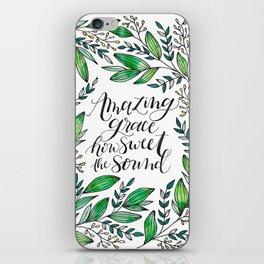 Amazing Grace iPhone Skin
