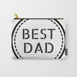 Best Dad #minimalism Carry-All Pouch