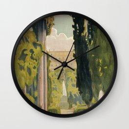 Tivoli Lazio Rome travel ad Wall Clock