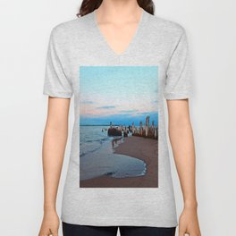 Relics by the Sea Unisex V-Neck