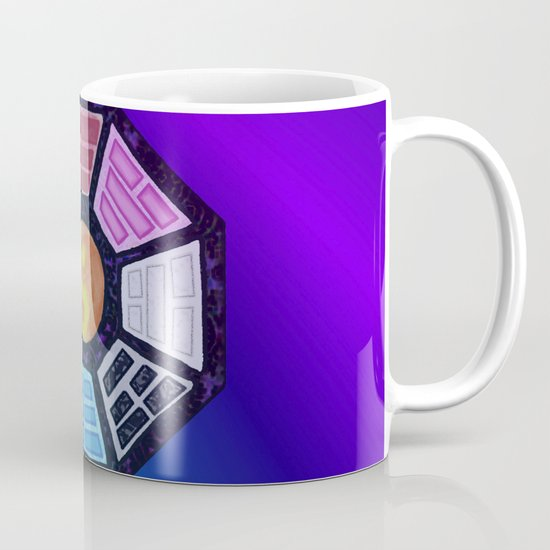 Painted Bagua Coffee Mug