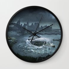 The Big Swallow Wall Clock