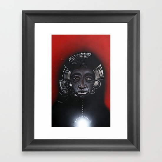 Anderson & The Tribe of Man Framed Art Print