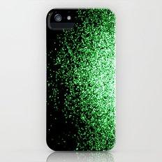 infinity in green Slim Case iPhone (5, 5s)