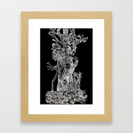 Sacred Tree Framed Art Print