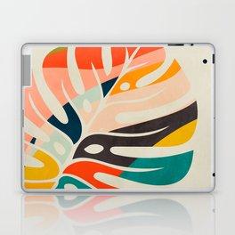 shape leave modern mid century Laptop & iPad Skin