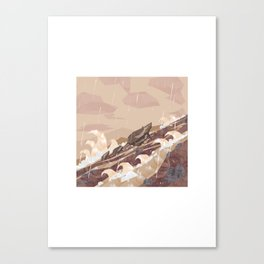 Shelter - River Canvas Print