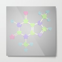 Chemical Chocolate - Glass Metal Print