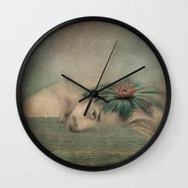 A man, the sea and a dream Wall Clock
