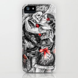 Un Ultimo Baile Pop-Red Version iPhone Case