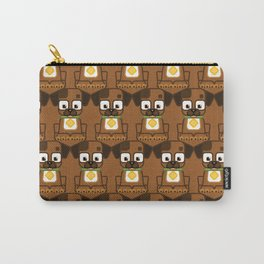 Super cute animals - Cute Brown Puppy Dog Carry-All Pouch