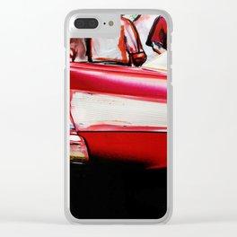 'car show Detroit' Clear iPhone Case