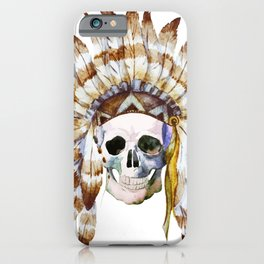 Skull 01 iPhone Case