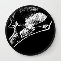 birdman Wall Clocks featuring Birdman by Gab Carson