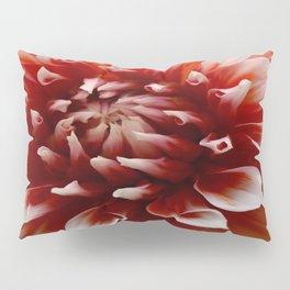 Cognac-Colored Dahlia Pillow Sham