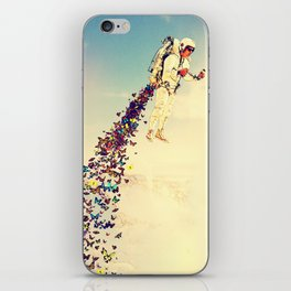 Leave It All Behind iPhone Skin