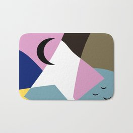 Sunset Landscape Bath Mat