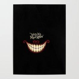 Crazy smile Poster