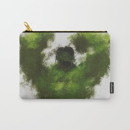 Smashing Green Carry-All Pouch