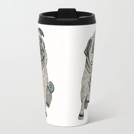 Ares The Pug Travel Mug
