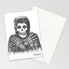 Crimson Ghost Stationery Cards