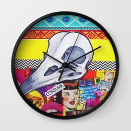 Media Chaos  Wall Clock