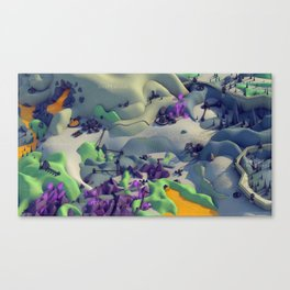 Outpost Alpha Canvas Print