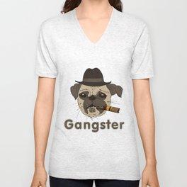 Gangster mops Unisex V-Neck