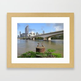 Brisbane River Framed Art Print