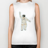 outer space Biker Tanks featuring Outer Space by Tuylek