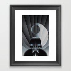Deco Vader (design size 14x21) Framed Art Print