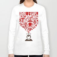 doctor Long Sleeve T-shirts featuring Doctor by aleksander1