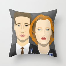 Watching The Detectives #4: Close Up Throw Pillow