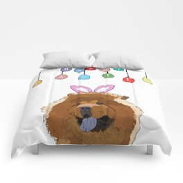 Happy Easter - Chow Chow Comforters