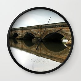 when i travel around the world and i took photo Wall Clock