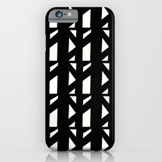 Marsman Black & White Pattern iPhone 6s Slim Case