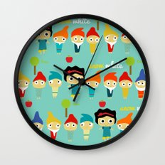 Snow White and the 7 dwarfs Wall Clock