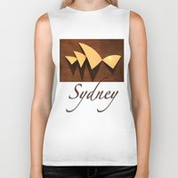 sydney Biker Tanks featuring Sydney by Mike Thomas Portraiture