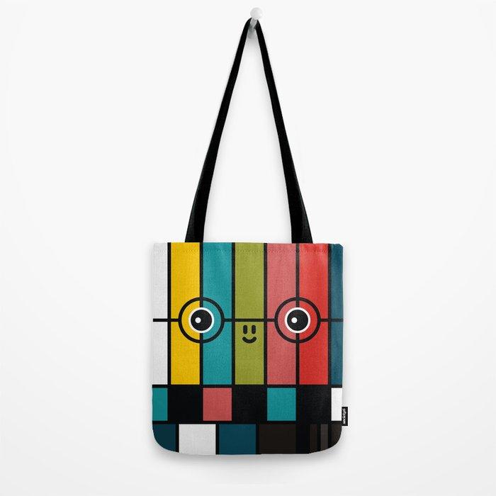 color bars Tote Bag