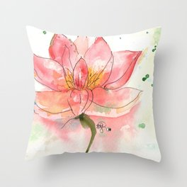 SEKA Lotus Throw Pillow