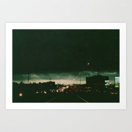 Houston, Texas Art Print